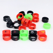 Vape Band Glow, Vente en gros Vapor Band E Cigarette Mechanical Mod Fluorescence Silicon Vape Band