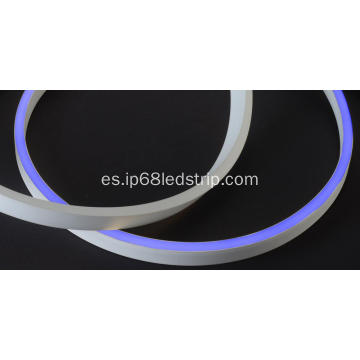Evenstrip IP68 Dotless 1020 Azul Lado Bend Led Strip Light