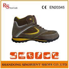 Chaussures de sécurité de randonnée à semelle souple de sécurité Chaussures de travail de confort