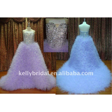 2012 Fashion Modern Design &crystal wedding dress-11017