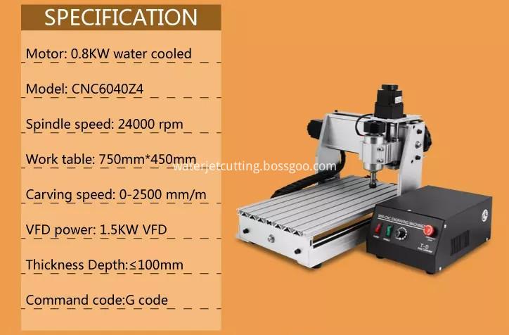 DESKTOP CNC ROUTER 6040
