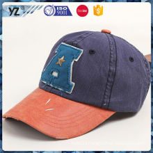 Best selling different types worn-out baseball cap from China