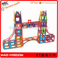 Educational Magnetic Toy 3D-Plastic Connection Toys 168Pcs Set