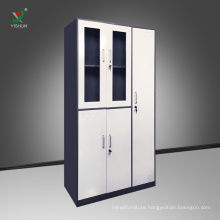 Steel filling cabinet office filing cabinet storage cabinet with locker
