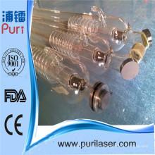 Máquina del laser de la Doble-Cabeza Tubo del laser del CO2 Comerciante 80W