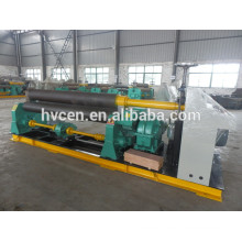 3 Walzen Platte Biegewalze Maschine w11-6 * 3200 / Platte rollenden Biegemaschine Preis
