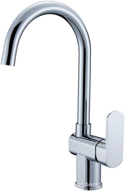 Kitchen mixer faucet