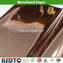Pure copper metallized pet film