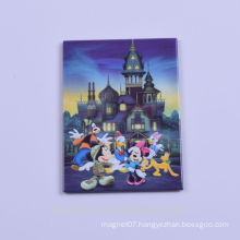 cheap custom OEM directly high quality Mickey mouse design tin plate fridge magnets