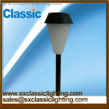Modern design plastic solar lawn light