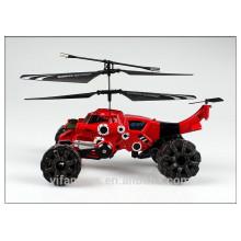3 CH Land & Air Helicóptero anfibio RC helicóptero de misiles rc helicóptero juguetes para niños