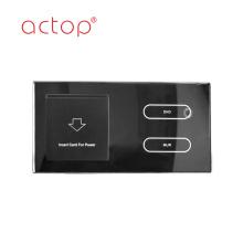 interruptor y zócalo del sistema de control inteligente