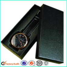 Kemasan Black Paper Watch Box
