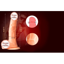 Silicone Dildo G-Spot Massager Sex Toy for Women Ij-S10036
