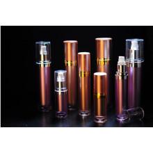 15ml 30ml 60ml 120ml Botellas redondas de la bomba de la crema cosmética