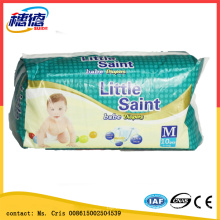 Disposable Baby Diaper Manufacturer Guangzhou Factory Magic Frontal Tape