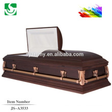 American style elegant casket made in china