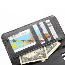 Бумажник пу кожаный чехол телефон для Samsung Галактика S6 с подставкой