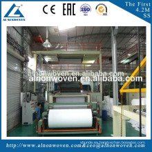 AL-1600mm S Single Beam PP Spunbond Non Woven Fabric Making Machine for Shopping Bags, Shoes Bags