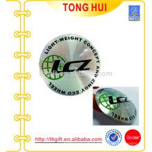 3D Metall Etikett, weicher Metall Aufkleber, Stannum Aufkleber, Klebe Metall Etikett, Parfüm Etikett