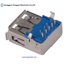 A Тип Женский 90-градусный DIP 9pin USB 3.0 Разъем