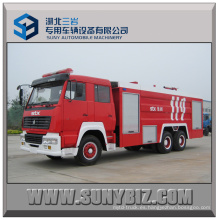 10000L ~ 15000L Sinotruk Steyr 6X4 camiones de lucha contra incendios