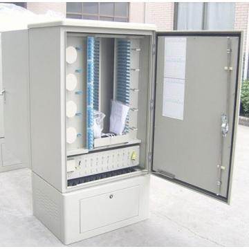 SMC 144 Core Fibre Cross Cabinet