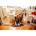 Wholesale Chinchilla Rex Rabbit Fur Plate With Backing