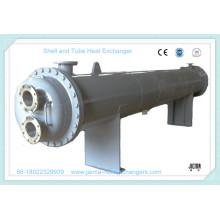 Todo el acero inoxidable 304 # intercambiador de calor de la cáscara y del tubo como evaporador, condensador