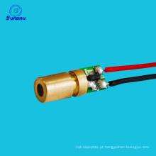 Best selling diodo módulo 650nm 6mm 3 v 5 mw mini laser dot diodo módulo cabeça