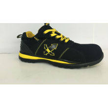 Sport Style Suede Safety Shoes (HQ6120503)