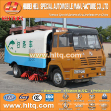 SHACMAN 4x2 HLQ5165TSLS vacuum sweeper truck good quality hot sale for sale