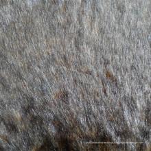 Imitação de peles impressas para casaco de inverno