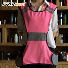 100gsm 100% Polyester Mesh reflective running vest