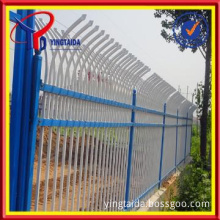 Mental wire mesh fence