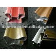 Muebles de la serie 6000 perfil de aluminio / Mute door / handrall