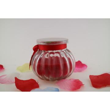 Jarra única velas en forma de calabaza de Halloween vela perfumada para la decoración del hogar