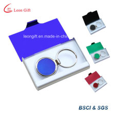 Aluminium Business Card Holder and Keychain Set