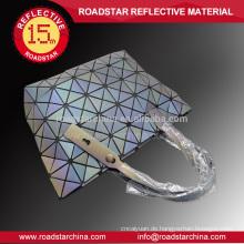 Gute Qualität Regenbogen Glitzer reflektierende weiblichen Tasche