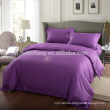Alibaba China Suppiler Luxury Duvet Covers Good Quality Long Staple Cotton Bed Sets Bed Sheet
