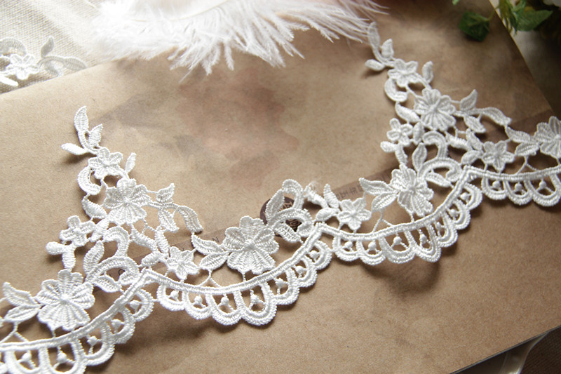 Polyester Embroidered Lace
