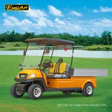 EXCAR 2 plazas carrito de golf eléctrico vehículo utilitario club club mini camión