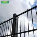garden fence gate double wire