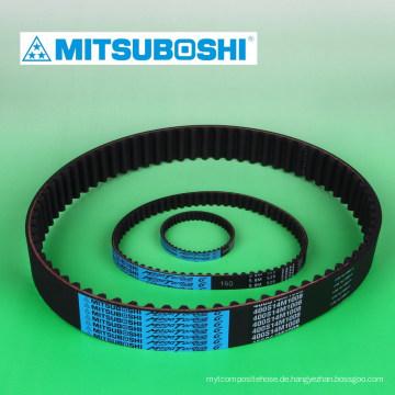 Mitsuboshi Gürtel Mega Drehmoment Gummi Zahnriemen für niedrige und hohe Geschwindigkeit Drehmoment. Hergestellt in Japan