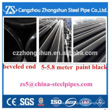 "Seamless steel pipe 6""*sch40 carbon steel pipe"
