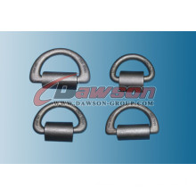 Welded D Ring with Clamp (Breaking Load 50t/36t/25t/10t)
