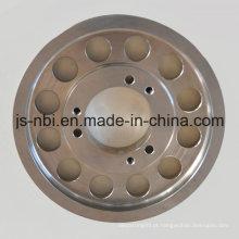 Peça de fundição de aço inoxidável personalizada com usinagem CNC