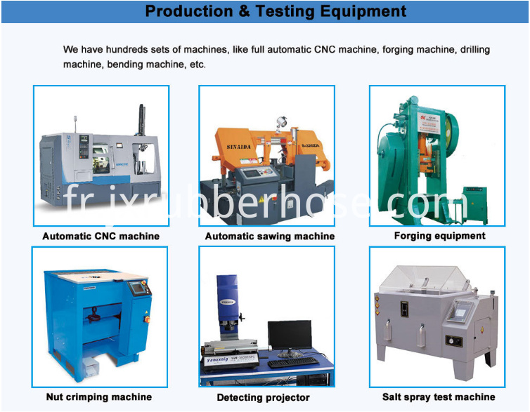 hydraulic fitting testing equipment