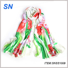 2015 China Online Shopping Stock Digital Printed Silk Scarf