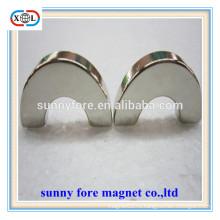 мощный половина кольцо форму постоянных Подъемный магнит